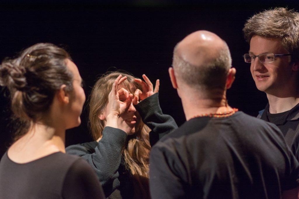 Knock Knock - Thu 5 February 2015 - Traverse Theatre, Edinburgh, Scotland (photographer - Andy Catlin)